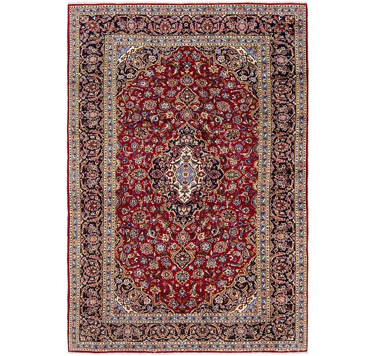 8' x 12' 3 Kashan Persian Rug