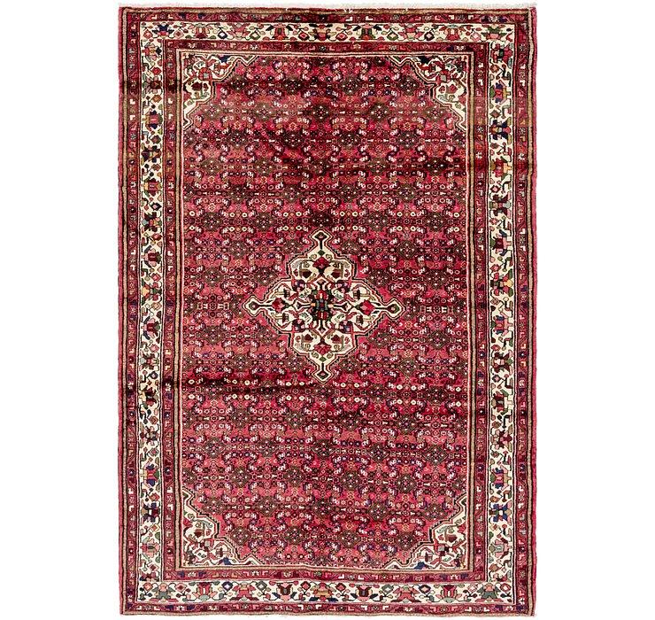 7' x 10' 5 Hossainabad Persian Rug