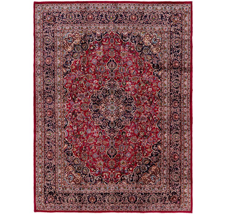 9' 9 x 13' 3 Mashad Persian Rug