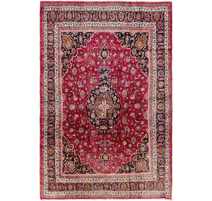 8' 8 x 13' 4 Mashad Persian Rug