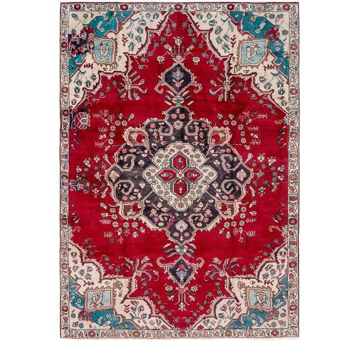 7' x 10' 2 Tabriz Persian Rug