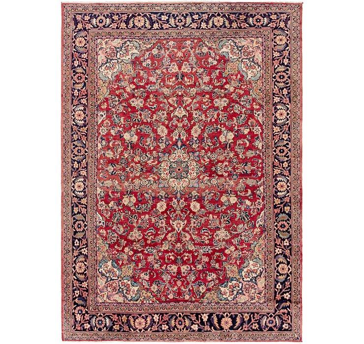 275cm x 385cm Meshkabad Persian Rug