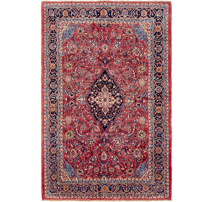 7' 6 x 11' 8 Mahal Persian Rug