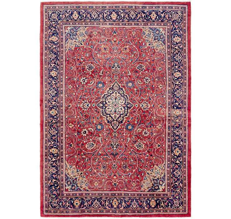 270cm x 395cm Mahal Persian Rug