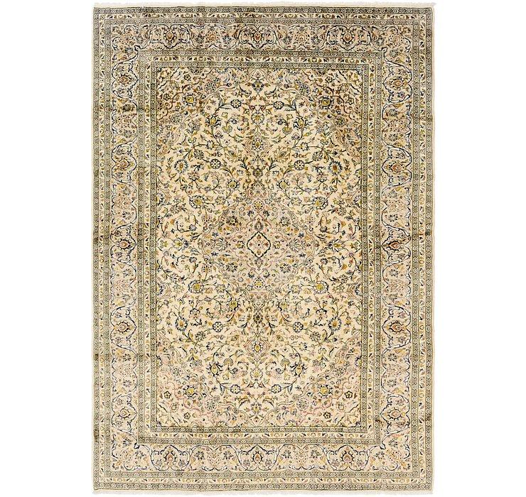 8' x 11' 10 Kashan Persian Rug
