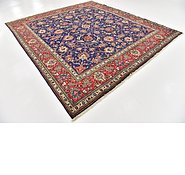 Link to 9' 9 x 11' Tabriz Persian Square Rug