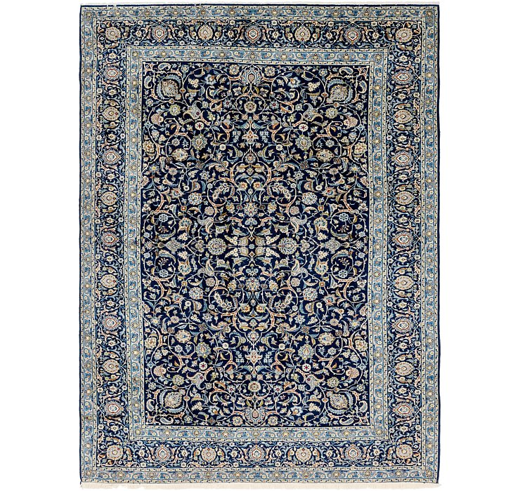HandKnotted 8' 6 x 11' 9 Kashan Persian Rug