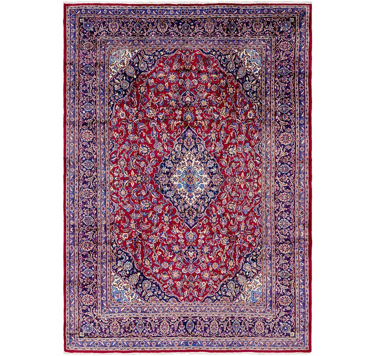 9' 8 x 13' 6 Mashad Persian Rug