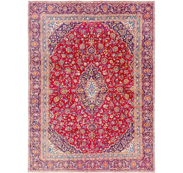 8' 8 x 11' 10 Kashan Persian Rug