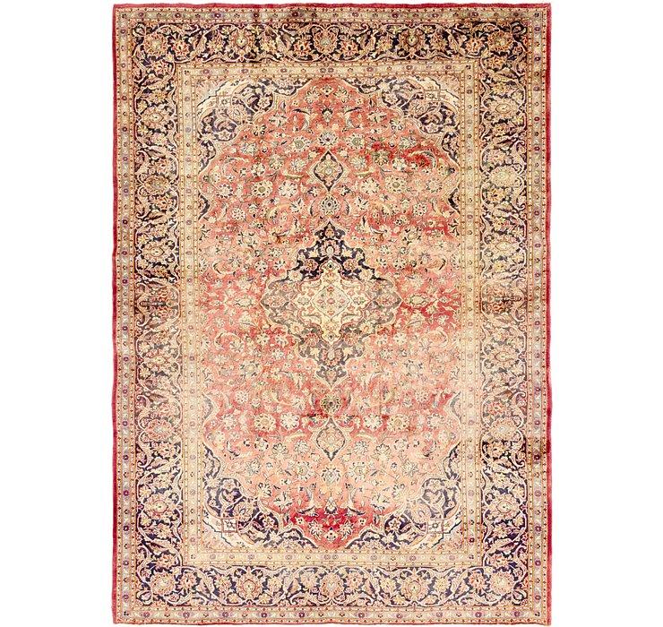 9' 4 x 13' 1 Kashan Persian Rug