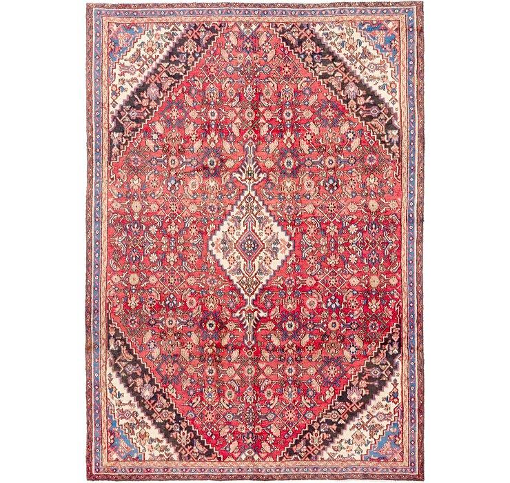 7' 3 x 10' 3 Hamedan Persian Rug