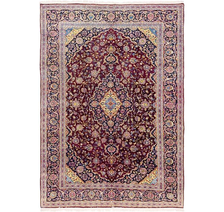 9' 2 x 13' 5 Kashan Persian Rug