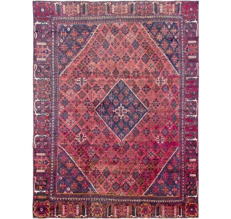 262cm x 353cm Joshaghan Persian Rug