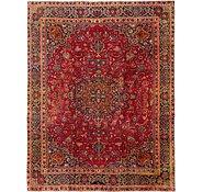 Link to 282cm x 358cm Mashad Persian Rug