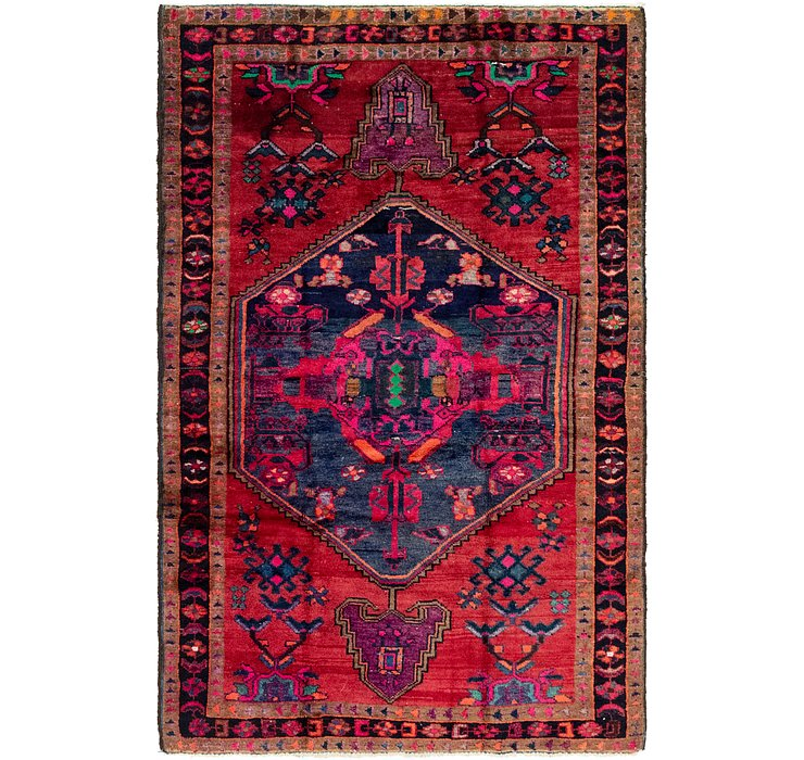 4' 10 x 7' 5 Shiraz Persian Rug