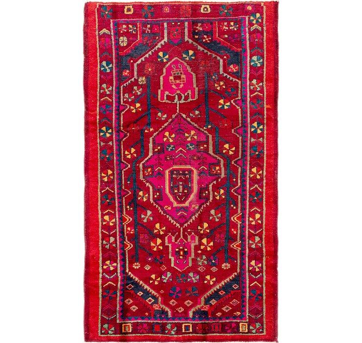 4' 4 x 7' 6 Zanjan Persian Rug