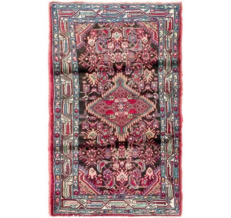 3' x 4' 10 Darjazin Persian Rug
