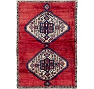 Link to 115cm x 163cm Hamedan Persian Rug