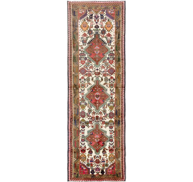 3' x 9' 2 Darjazin Persian Runner...