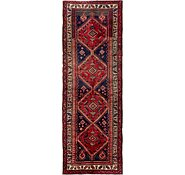 Link to 3' 7 x 10' 6 Hamedan Persian Runner Rug