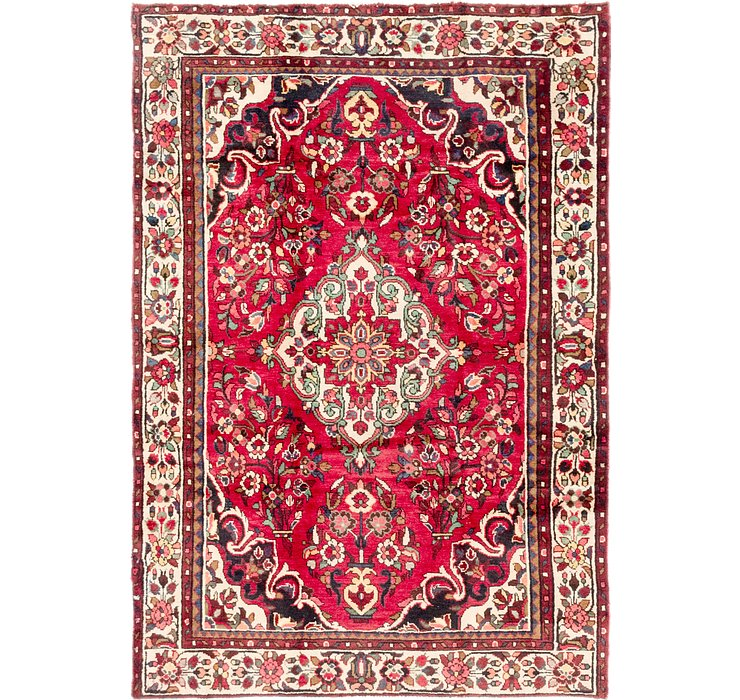 5' x 7' 4 Borchelu Persian Rug