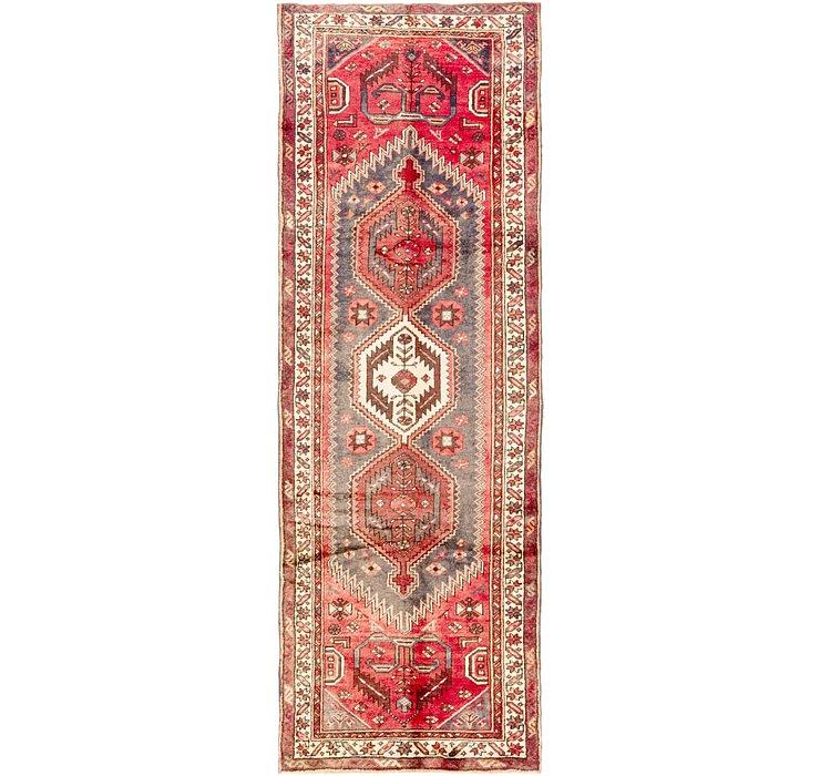 3' 4 x 10' Zanjan Persian Runner Rug