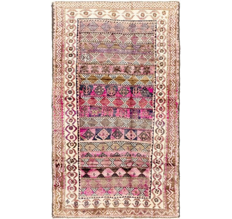 4' 2 x 7' 4 Shiraz Persian Rug