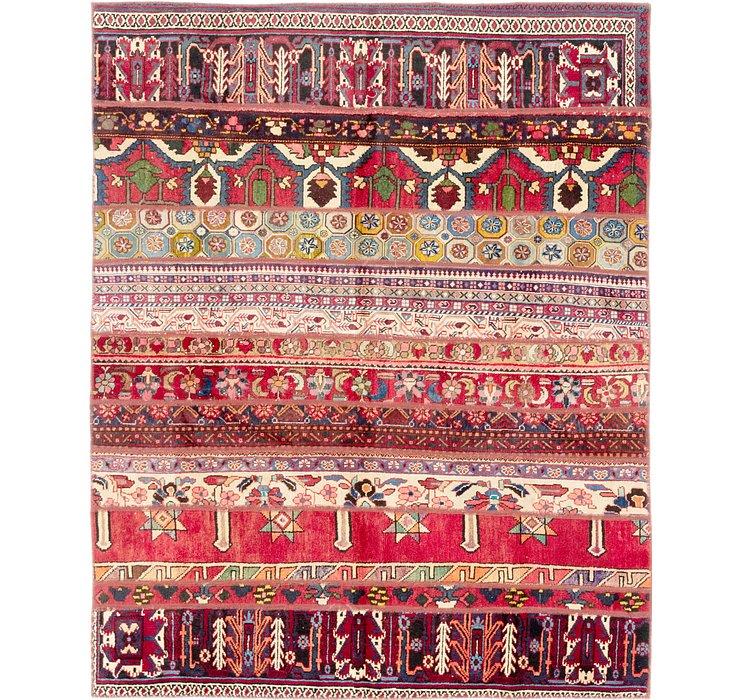 6' x 7' 4 Ultra Vintage Persian Rug