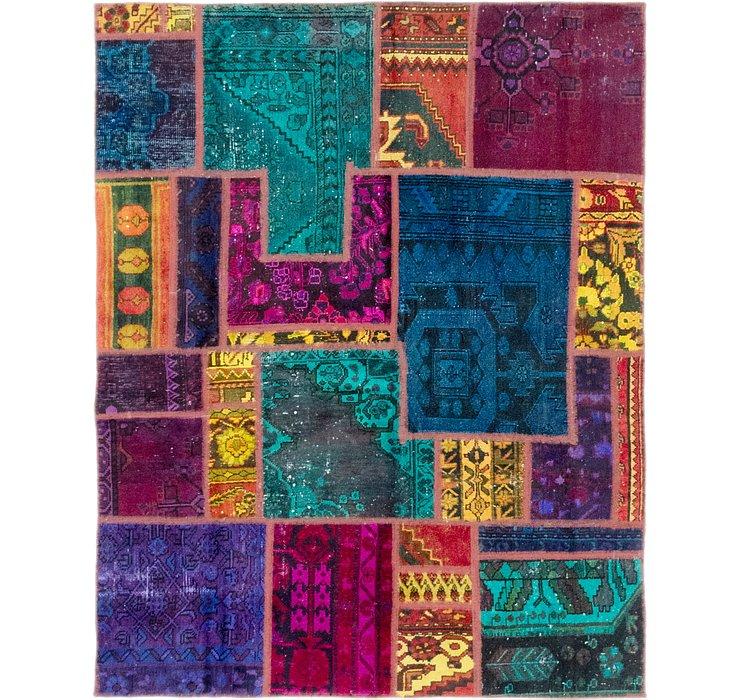 5' x 6' 4 Ultra Vintage Persian Rug