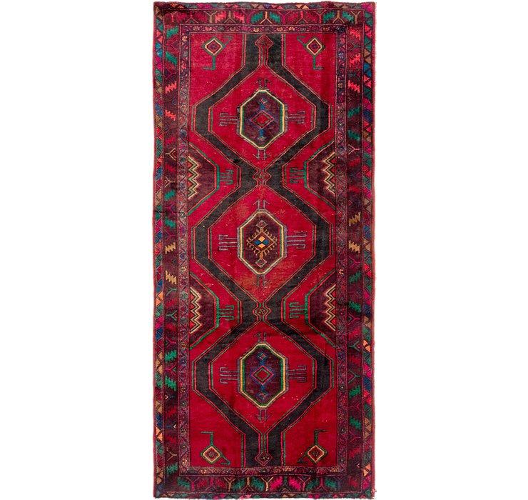 4' 5 x 10' Meskin Persian Runner Rug