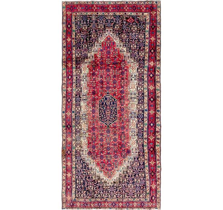 5' 2 x 10' 10 Sirjan Persian Runner Rug