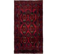 Link to 5' 2 x 9' 8 Hamedan Persian Runner Rug
