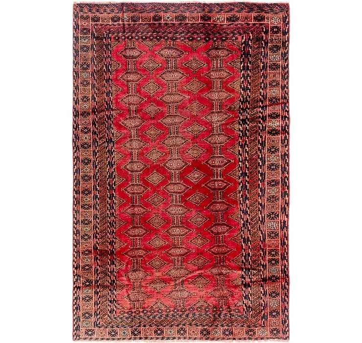 4' 7 x 7' 7 Shiraz Persian Rug