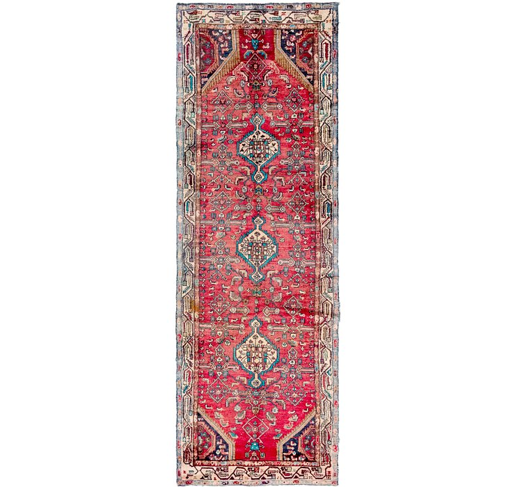 3' 5 x 10' Hamedan Persian Runner ...