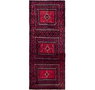 Link to 2' 6 x 5' 10 Balouch Persian Runner Rug
