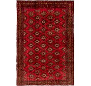 Link to 5' 2 x 7' 7 Afghan Akhche Rug