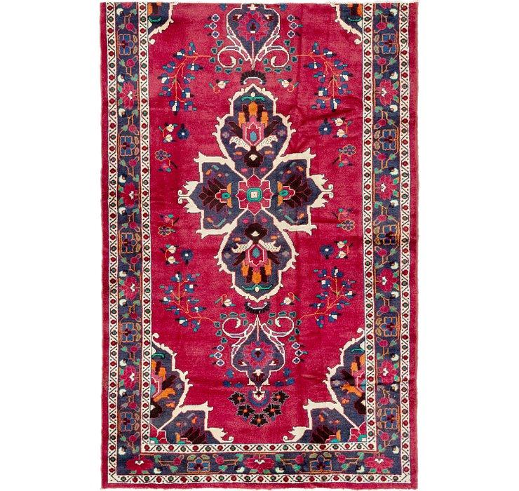 4' 10 x 7' 6 Ferdos Persian Rug