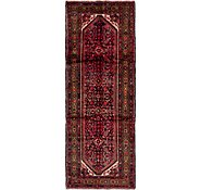 Link to 110cm x 300cm Hossainabad Persian Runner Rug