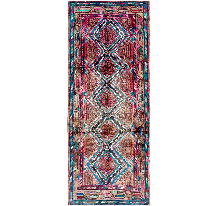 3' 4 x 8' 7 Chenar Persian Runner Rug