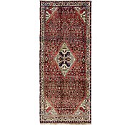 Link to 130cm x 318cm Hossainabad Persian Runner Rug