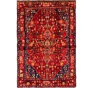 Link to 4' 6 x 6' 10 Hamedan Persian Rug
