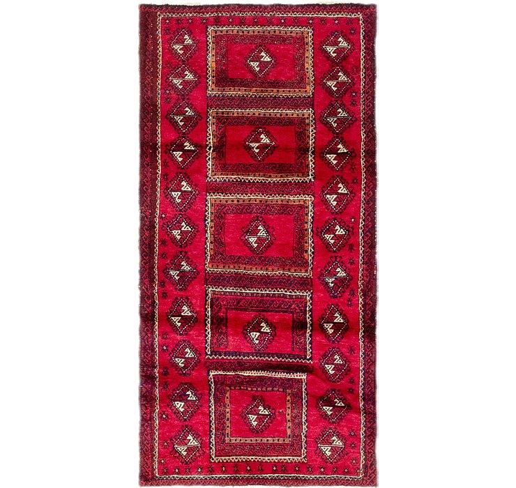 2' 10 x 5' 9 Balouch Persian Rug