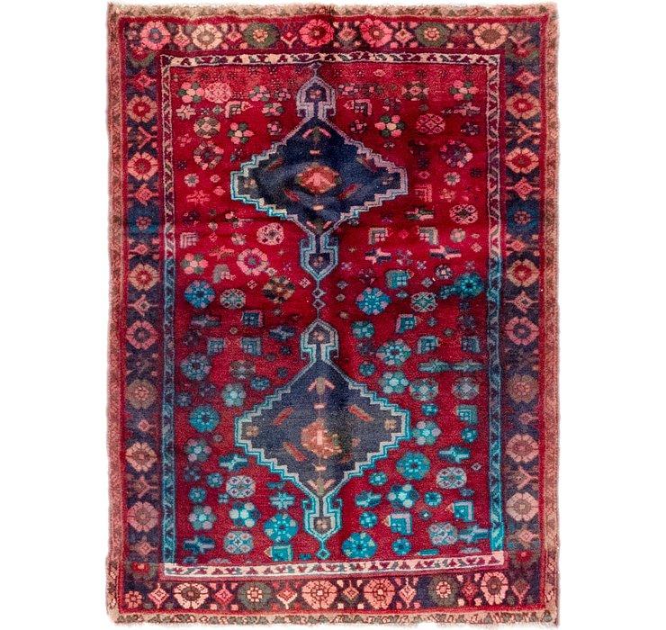 3' 3 x 4' 5 Hamedan Persian Rug