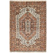 Link to 137cm x 198cm Ghoochan Persian Rug