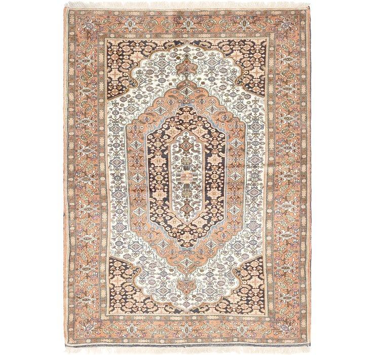 4' 6 x 6' 6 Ghoochan Persian Rug