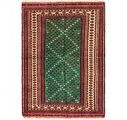 Link to 107cm x 147cm Ghoochan Persian Rug