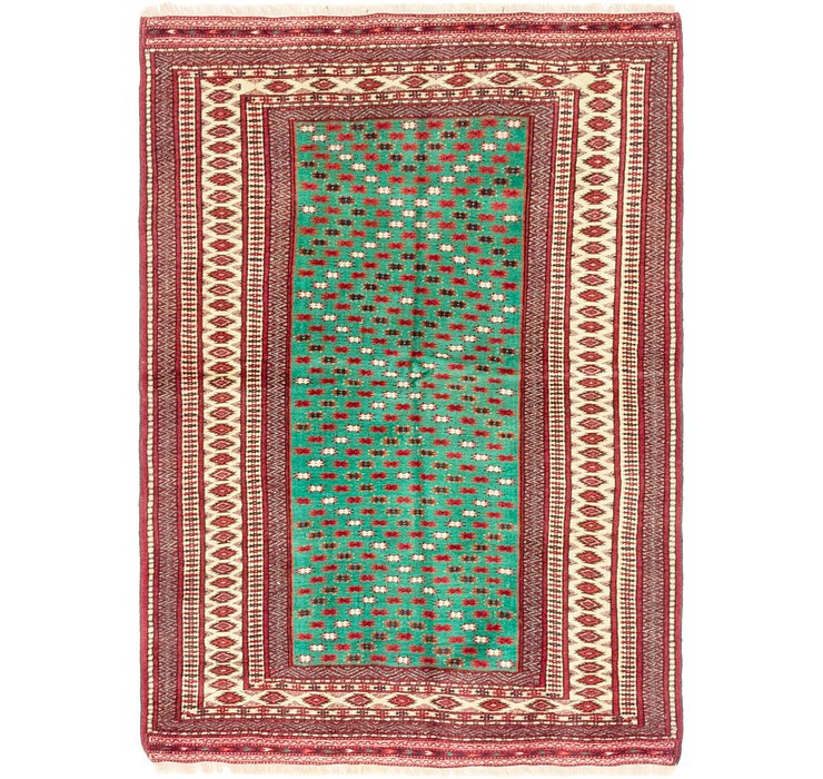 107cm x 147cm Ghoochan Persian Rug