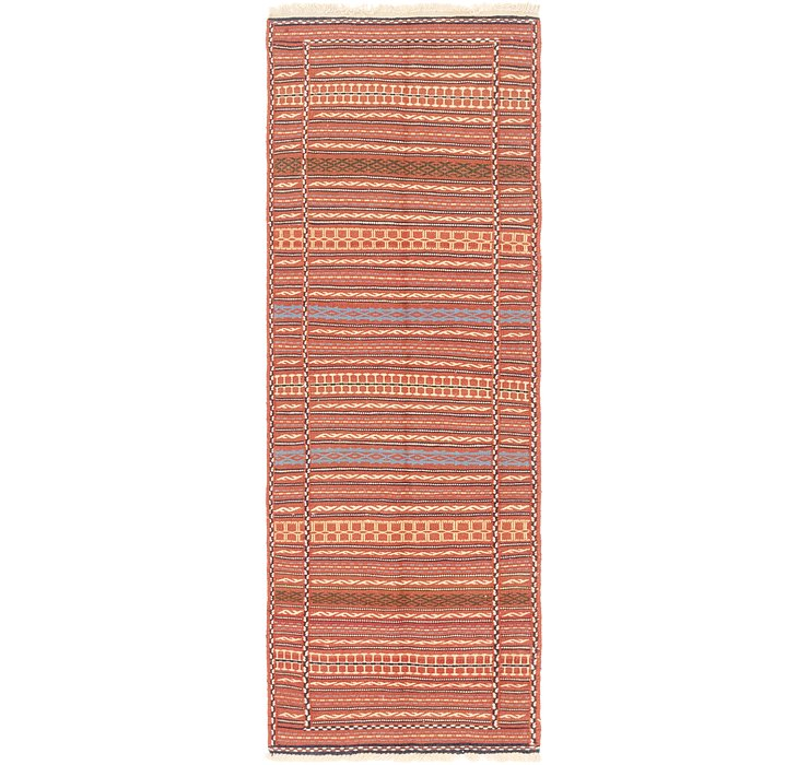 2' 4 x 7' Ghoochan Persian Runner...