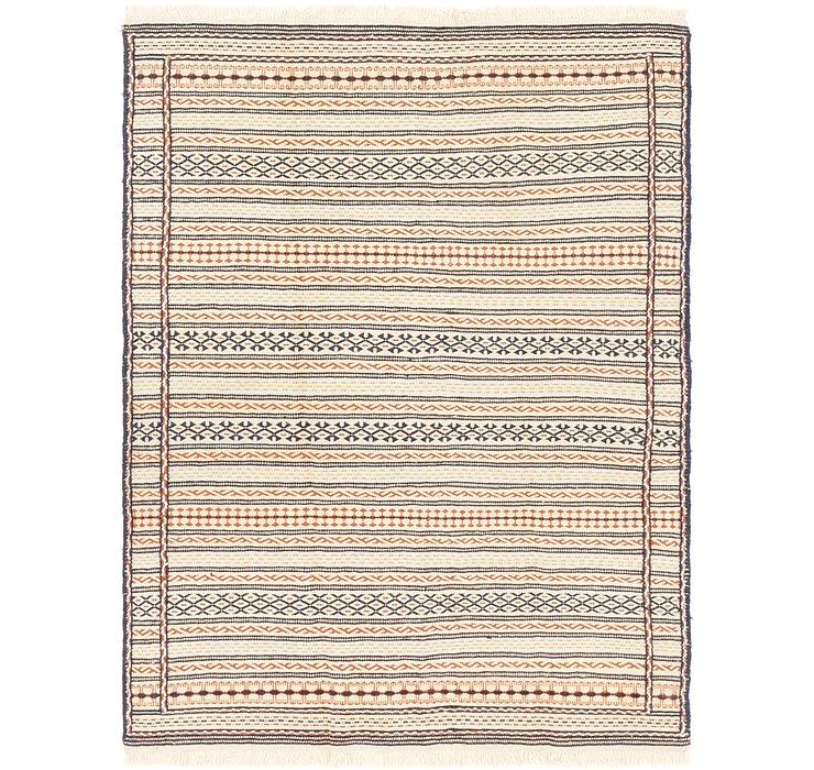 4' 9 x 6' 8 Ghoochan Persian Rug