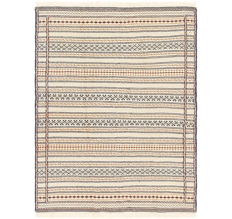 145cm x 203cm Ghoochan Persian Rug